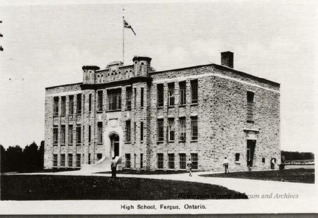 Fergus High School Circa 1930