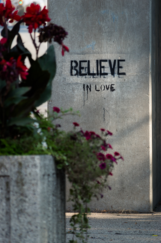 Believe in Love pillar, Brantford Ontario